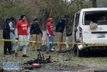 巴基斯坦白沙瓦发生自杀式袭击致2死18伤