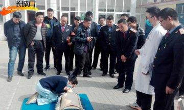 衡水车务段开展应急救护培训演练 提高应急处置能力