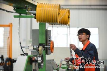 廊坊文安传统产业向高端智能绿色转型升级