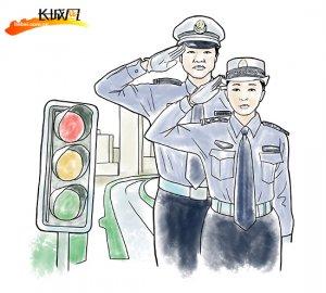 [文明城市创建系列漫画]①依规驾驶,文明上路