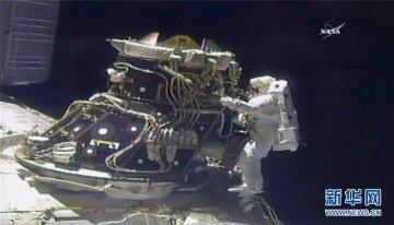 国际空间站迎来第200次太空行走