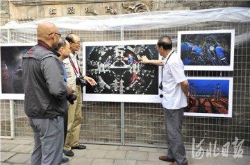 石家庄地铁建设摄影作品亮相平遥国际摄影大展