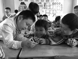 石家庄市红星小学参加1+A走读课程