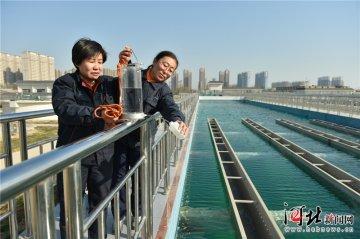 石家庄东南水厂正式向市区供水(图)