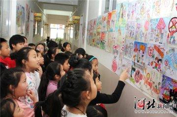 沧州市青少年宫开展主题绘画活动
