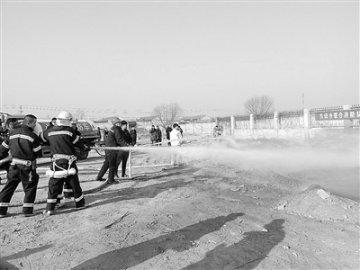 霸州市东段乡联合消防队成立