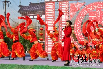 """央视""""美丽乡村快乐行""""走进邯郸复兴区闹新春(组图)"""