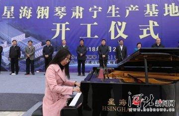 沧州承接京津产业转移 星海钢琴肃宁生产基地项目开工(图)