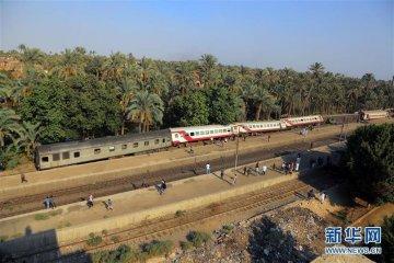 埃及发生火车脱轨事故至少55人受伤