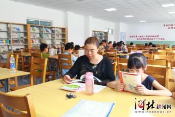 滦平:暑期阅读忙 第五小学图书馆免费向社会开放