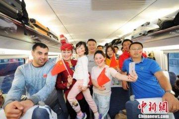 全国铁路今迎国庆客流高峰 预计发送旅客1619万人次