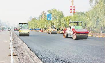 经开区对4条道路进行改造升级