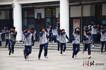 邯郸市开展大型灭火救援疏散演练暨消防工作观摩培训会