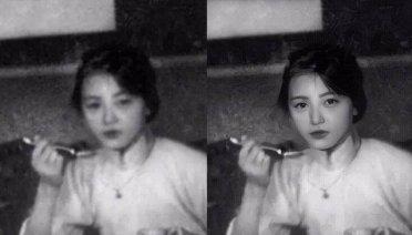 【长城评论】AI修复16岁林徽因照片,新技术挑战真实?