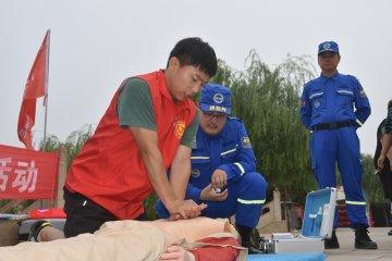 广平开展预防青少年溺水宣传活动