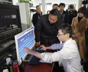 河北省委宣传部副部长、省电影局局长史建伟一行到省会重点影城调