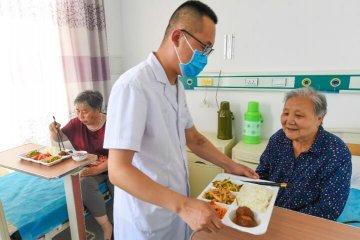 """河北广阳: """"医养结合""""助力老人健康养老"""