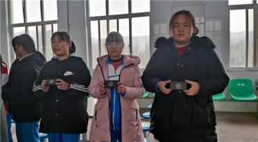 河北省共同行动助学基金会帮扶涉县鹿头中学
