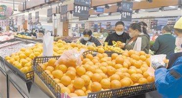 """河北新发地保障""""菜篮子""""供应不断档 每天500余吨果蔬直抵石家庄"""