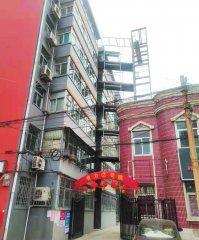 河北峰峰:老旧小区装电梯居民出行更便捷